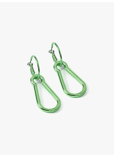 Twist Küpe Yeşil